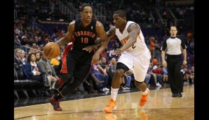 Shooting Guard: DeMar DeRozan (21,3 Punkte, 4,4 Rebounds)