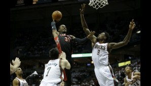 Small Forward: Terrence Ross (9,5 Punkte, 3,2 Rebounds)