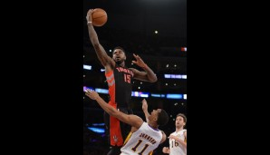 Power Forward: Amir Johnson (10,9 Punkte, 7 Rebounds)