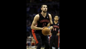 Center: Jonas Valanciunas (10,7 Punkte, 8,4 Rebounds)
