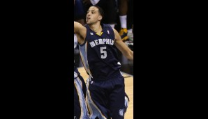 Austin Daye (Power Forward, 1,1 Punkte, 1 Rebound)