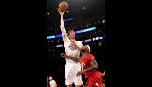 Power Forward: Pau Gasol (15,6 Punkte, 9,6 Rebounds)