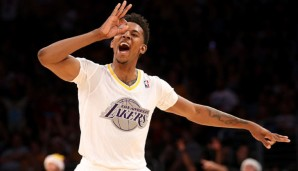 Bank: Nick Young (Shooting Guard, 16,3 Punkte, 2,7 Rebounds)