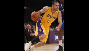 Jordan Farmar (verletzt, Point Guard, 8,7 Punkte, 4,7 Assists, 3,3 Rebounds)