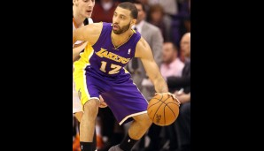 Los Angeles Lakers: Point Guard: Kendall Marshall (10,5 Punkte, 9,6 Assists, 3,1 Rebounds) Stand: 4.Februar