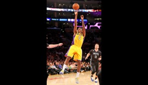 Nick Young (Guard/Forward, 17 Punkte, 2,7 Rebounds)