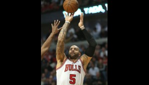 Power Forward: Carlos Boozer (14,7 Punkte, 8,5 Rebounds)
