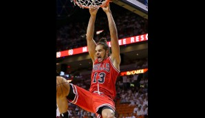 Center: Joakim Noah (11,6 Punkte, 4,1 Assists, 11,3 Rebounds)