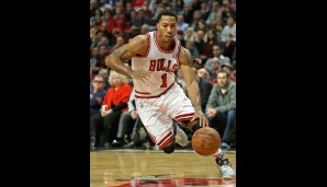 Derrick Rose (Point Guard, verletzt, 15,9 Punkte, 4,3 Assists, 3,2 Rebounds)
