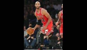Die Bank: Taj Gibson (Power Forward, 12,3 Punkte, 6,4 Rebounds)