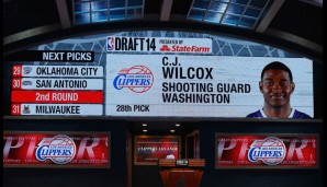 28. Pick: C.J. Wilcox (Los Angeles Clippers)