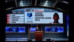 22. Pick: Jordan Adams (Memphis Grizzlies)
