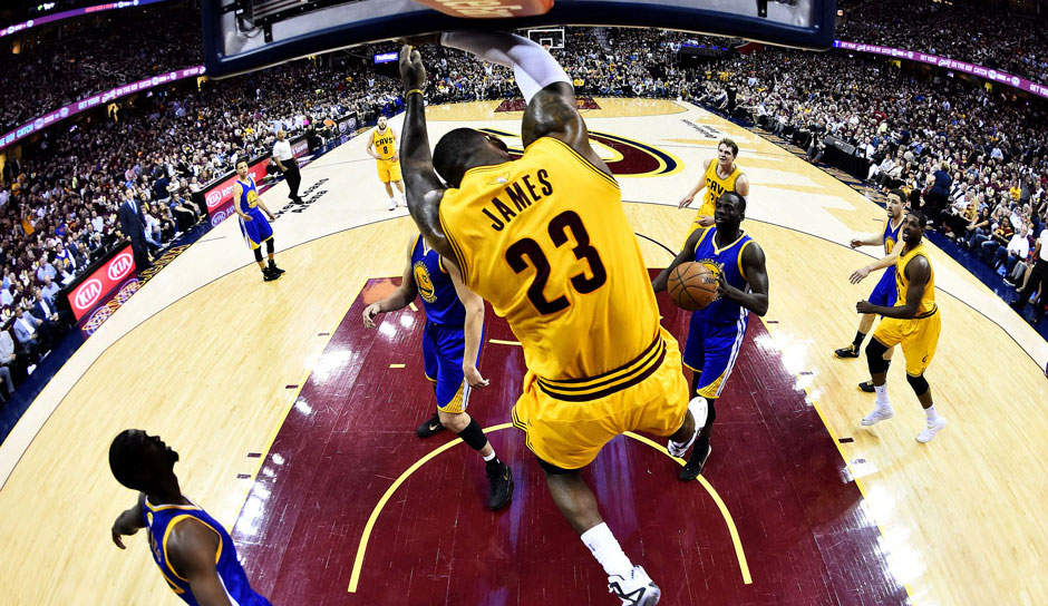 Platz 7: LeBron James - 45 Triple-Doubles in 1009 Spielen (Stand: 18.12.2016) - Cavaliers, Heat