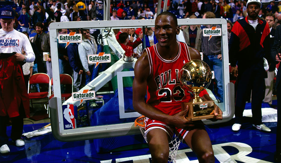 Platz 12: Michael Jordan - 28 Triple-Doubles in 1.072 Spielen - Bulls, Wizards