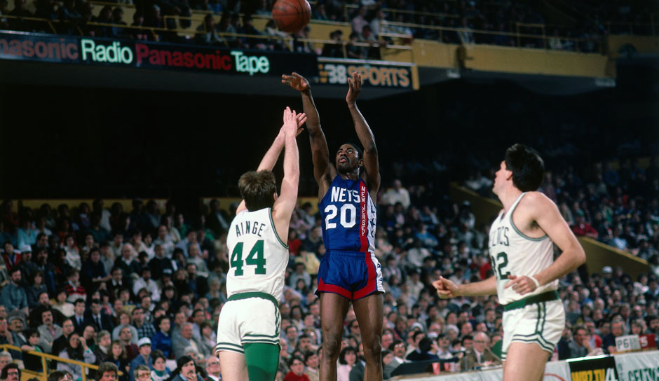 Platz 17: Michael Ray Richardson - 21 Triple-Doubles in 556 Spielen - Knicks, Warriors, Nets