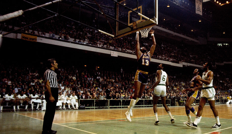 Platz 4: Wilt Chamberlain - 78 Triple-Doubles in 1.045 Spielen - Warriors, 76ers, Lakers