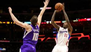 Platz 6: Jamal Crawford - 2.014 Dreier in 1.160 Spielen (Stand: 03.03.2017) - Bulls, Knicks, Warriors, Hawks, Blazers, Clippers
