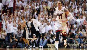 Platz 20: Mike Miller - 1.588 Dreier in 1.023 Spielen (Stand: 03.03.2017) - Magic, Grizzlies, Timberwolves, Wizards, Heat, Cavaliers, Nuggets