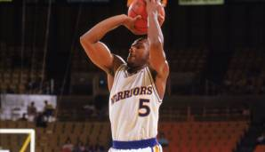 Platz 23: Tim Hardaway - 1.542 Dreier in 867 Spielen - Warriors, Heat, Mavericks, Nuggets, Pacers