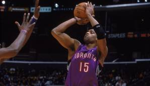 Platz 7: Vince Carter - 2.013 Dreier in 1.327 Spielen (Stand: 03.03.2017) - Raptors, Nets, Magic, Suns, Mavericks, Grizzlies