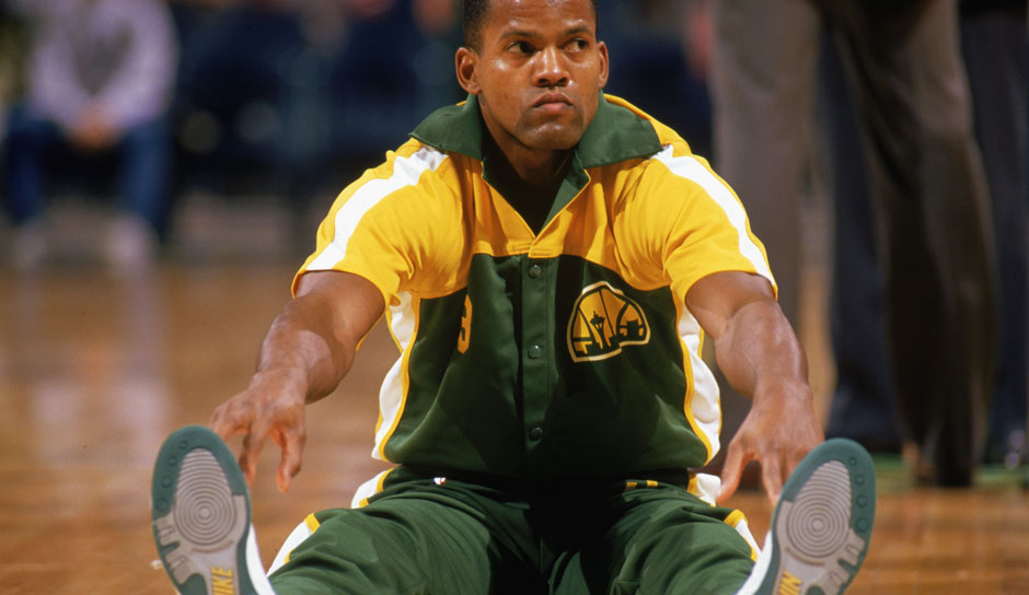 Platz 17: Dale Ellis - 1.719 Dreier in 1.209 Spielen - Mavericks, SuperSonics, Bucks, Spurs, Nuggets, Hornets