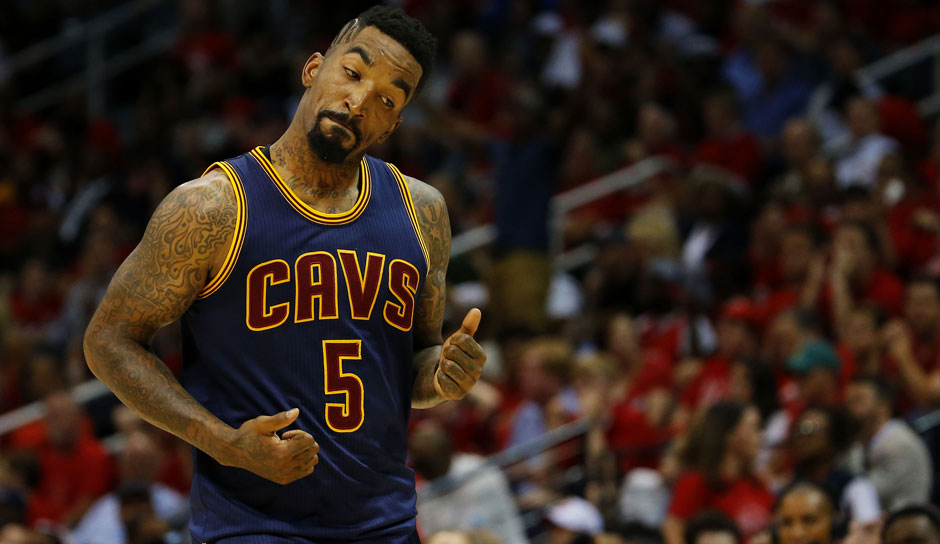 Platz 12: J.R. Smith - 1.844 Dreier in 919 Spielen (Stand: 09.01.2018) - Hornets, Nuggets, Knicks, Cavaliers