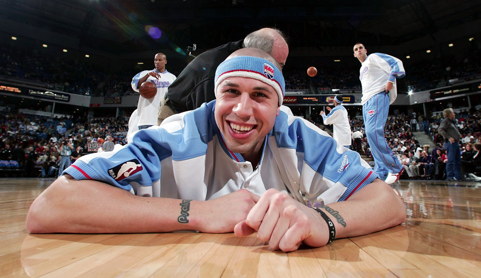 Platz 25: Mike Bibby - 1.517 Dreier in 1.001 Spielen - Grizzlies, Kings, Hawks, Wizards, Heat, Knicks