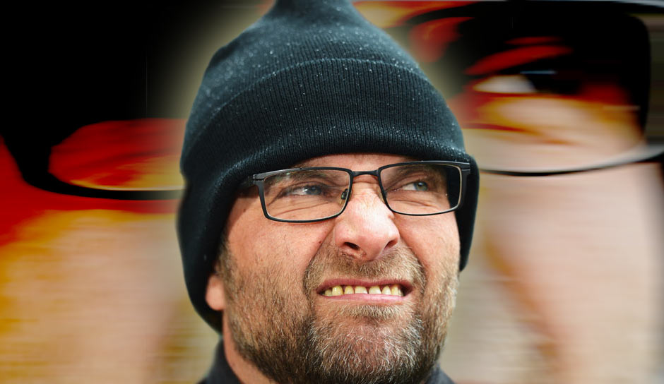 "Klopp über seinen 0815-Look: ""In Germany I have a o-eight-fifteen face like everybody. Many people look like me. I'm not the best shaver in the world, funny hairstyle, glasses…"""