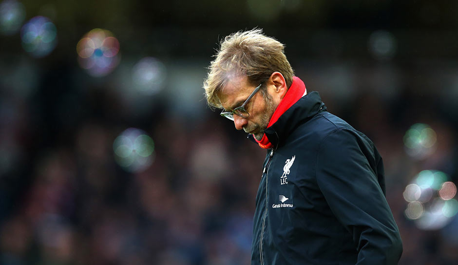 "Klopp über das Verletzungspech des FC Liverpool: ""I didn't know this word before I came to England, but hamstring is the shit word of the year for me. It's always hamstring, hamstring, hamstring…"""
