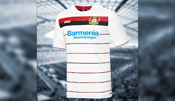 Die buli trikots 2016 17 werkself mit nadelstreifen for Bundesliga trikots