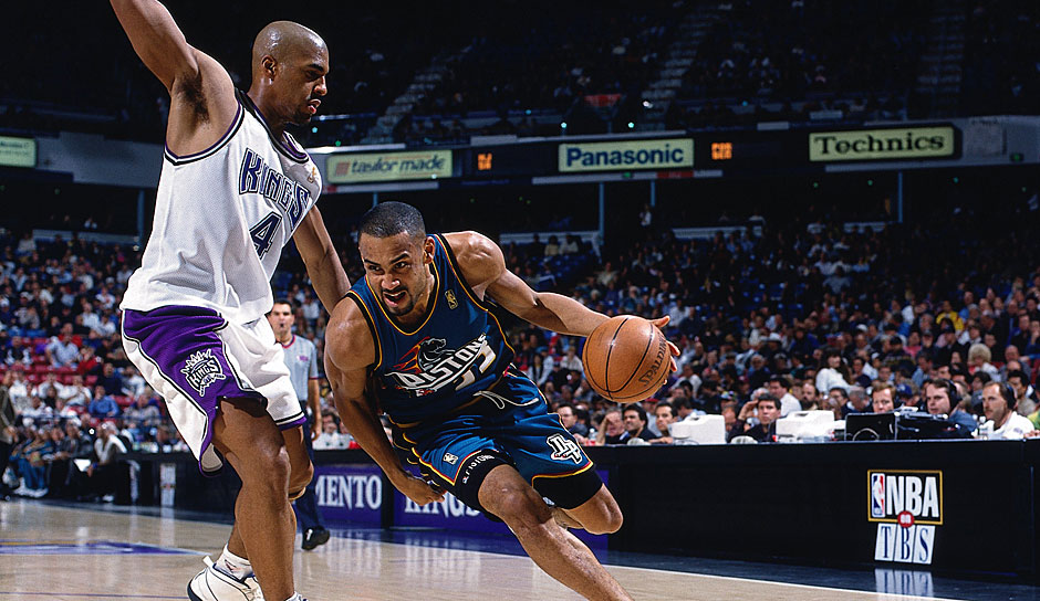 GRANT HILL: 13 Triple-Doubles (Detroit Pistons, 1996-97)