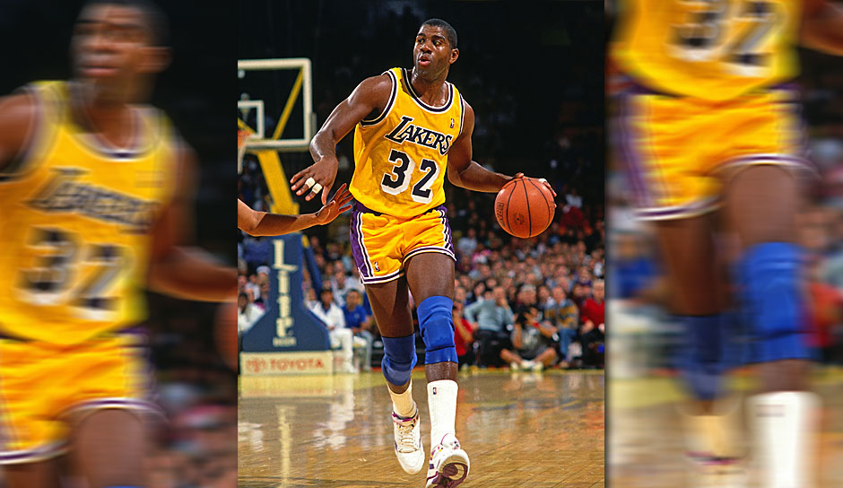 MAGIC JOHNSON: 17 Triple-Doubles (Los Angeles Lakers, 1988-89)