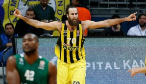 Second Team: Luigi Datome (Fenerbahce): 12,2 Punkte, 4,3 Rebounds, 1,8 Assists