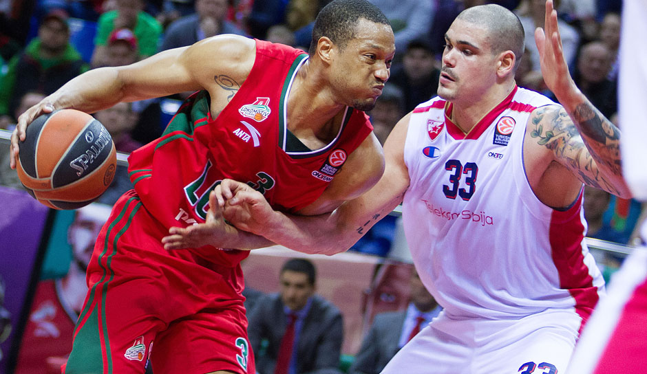 Anthony Randolph (Kuban Krasnodar): 14,5 Punkte, 5,8 Rebounds, 1,3 Blocks, 0,9 Steals