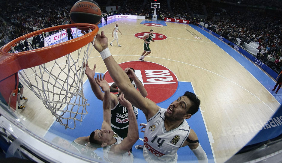 Gustavo Ayon (Real Madrid): 11,6 Punkte, 7,9 Rebounds, 1,8 Steals, 1,3 Blocks