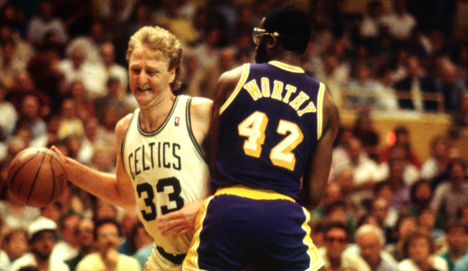 Platz 11 - 9 Teilnahmen: Larry Bird (Boston Celtics)