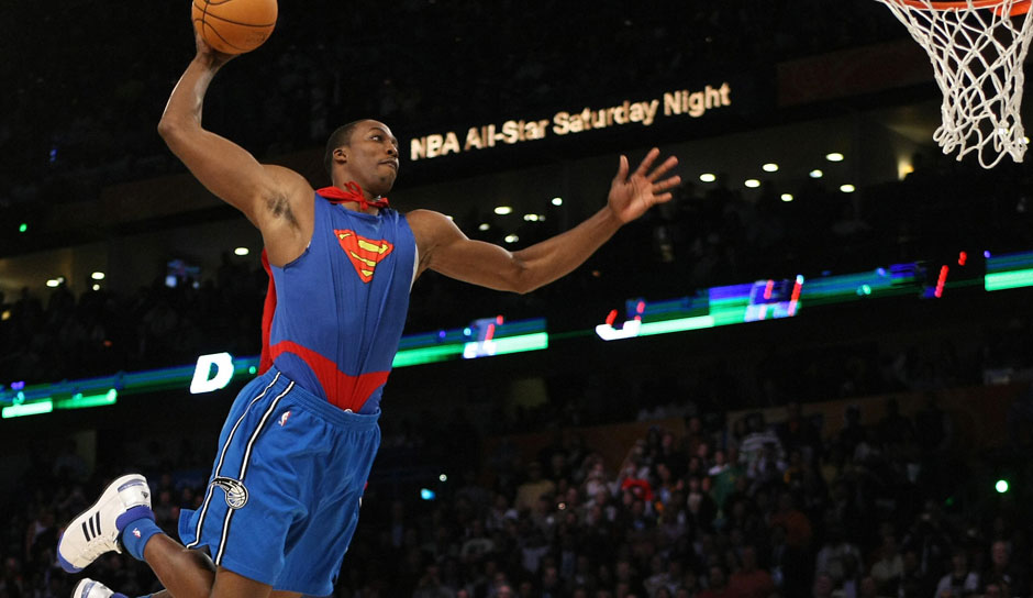 Platz 19 - 5 Teilnahmen: Dwight Howard (Orlando Magic)