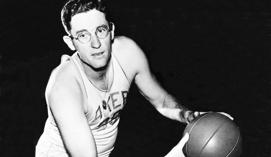 Platz 16 - 6 Teilnahmen: George Mikan (Minneapolis Lakers)