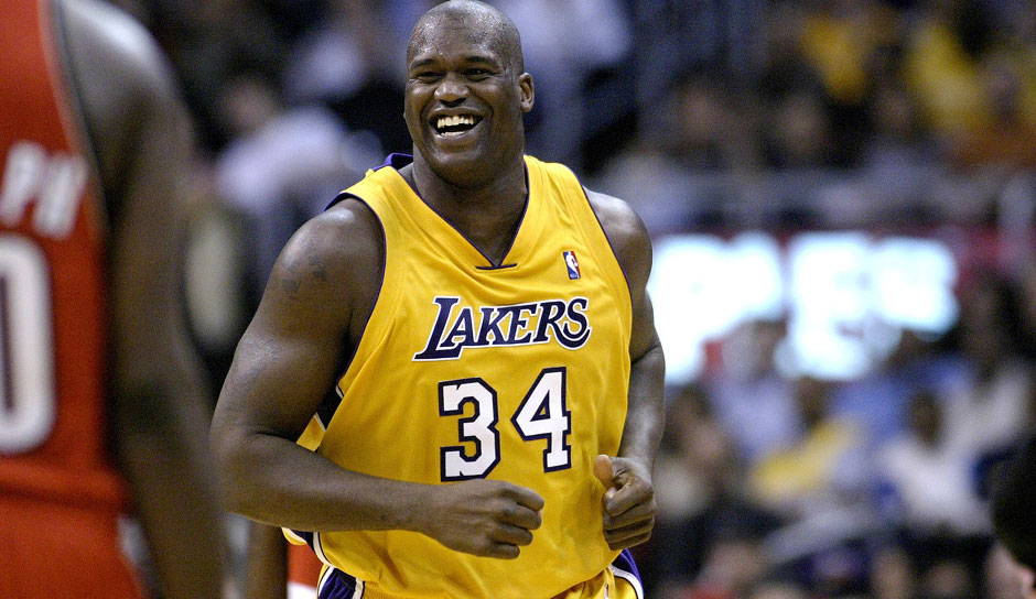 Platz 14 - 8 Teilnahmen: Shaquille O'Neal (Los Angeles Lakers, Miami Heat)