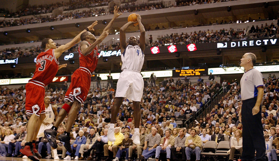 PLATZ 17: Michael Finley - 200 Dreier in 129 Spielen - Dallas Mavericks, San Antonio Spurs, Boston Celtics
