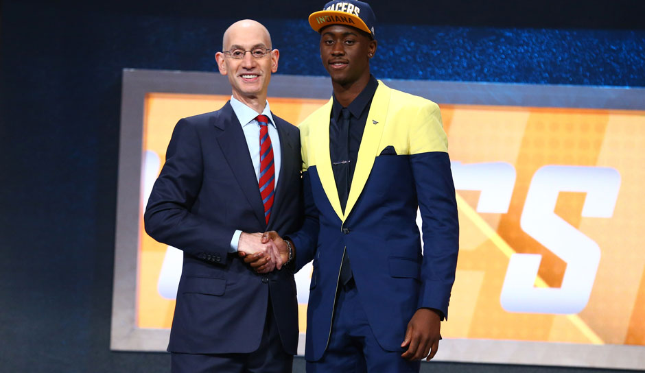 Pick 20: Caris LeVert (Michigan) zu den Indiana Pacers (getradet zu den Brooklyn Nets)