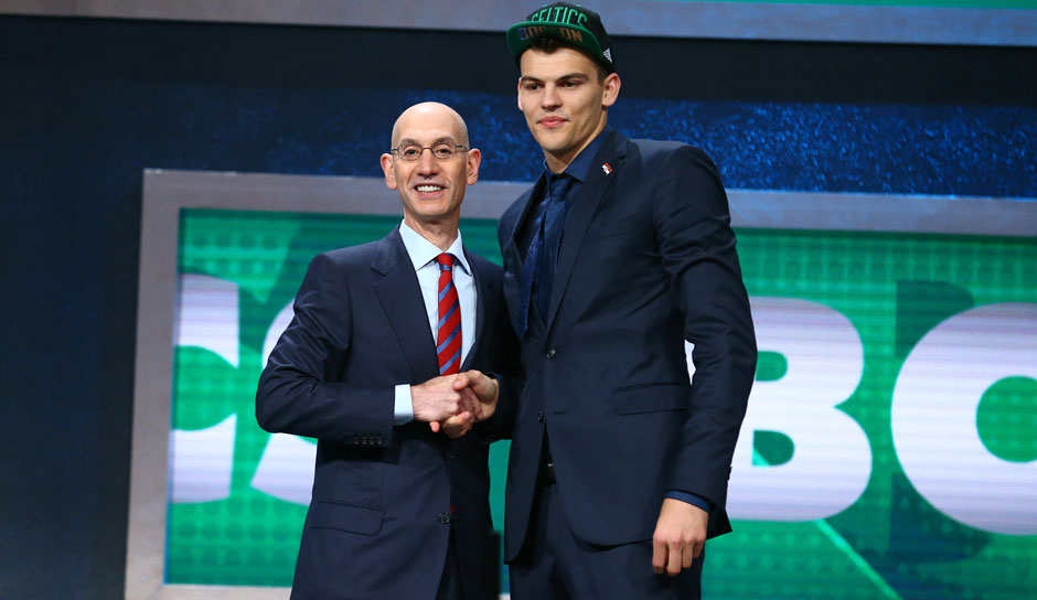 Pick 23: Ante Zizic (Kroatien) zu den Boston Celtics