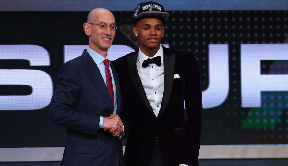 Pick 29: Dejounte Murray (Washington) zu den San Antonio Spurs