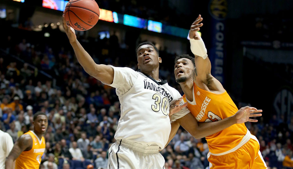 Pick 30: Damian Jones (Vanderbilt) zu den Golden State Warriors