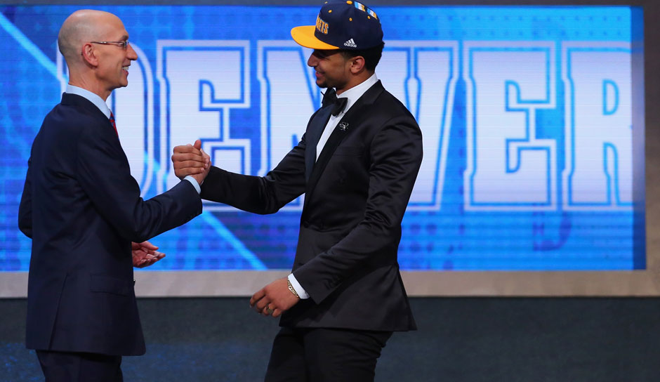 Pick 7: Jamal Murray (Kentucky) zu den Denver Nuggets