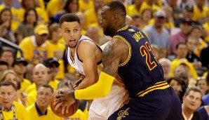 Game 1: Golden State Warriors - Cleveland Cavaliers 104:89 ...