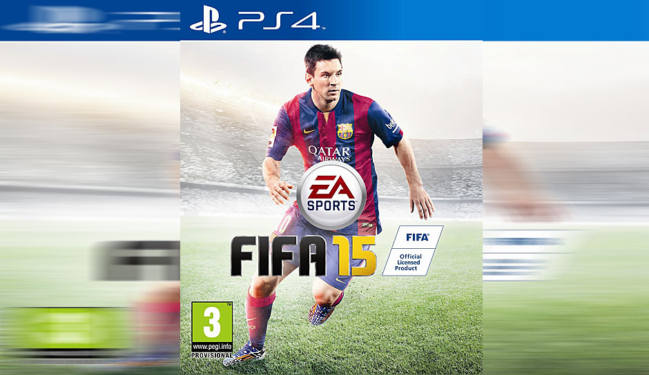 ... 2015: Nichts Neues am FIFA-Cover ...