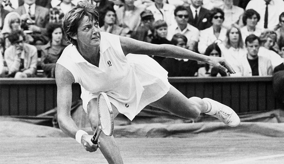 Platz 1: Margaret Smith Court (AUS) mit 24 Grand-Slam-Titeln (11x Australian Open, 5x French Open, 3x Wimbledon, 5x US Open)