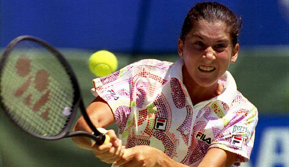 Platz 9 u.a.: Monica Seles (USA) mit 9 Grand-Slam-Titeln (4x Australian Open, 3x French Open, 2x US Open)