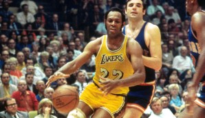 All-Time-Rebound-Leader: Elgin Baylor (1958-1971) mit 11.463 Rebounds